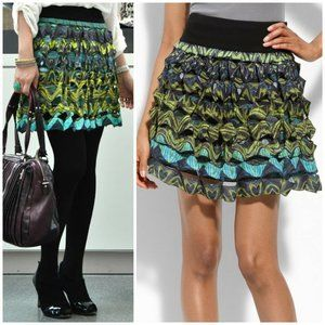 DVF Gunita Silk Skirt on Sale!
